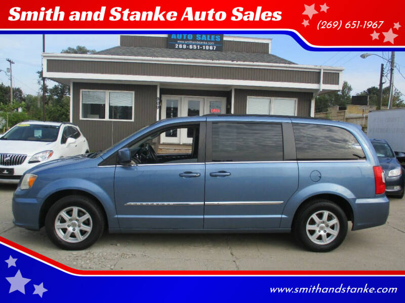 2012 Chrysler Town and Country for sale at Smith and Stanke Auto Sales in Sturgis MI