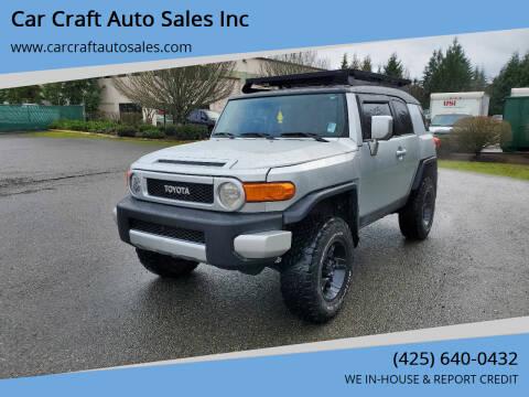 2008 Toyota FJ Cruiser for sale at Car Craft Auto Sales Inc in Lynnwood WA