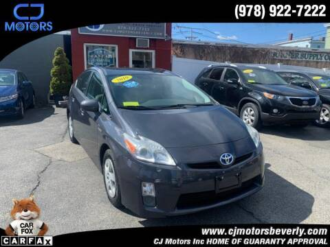2010 Toyota Prius for sale at CJ Motors Inc. in Beverly MA
