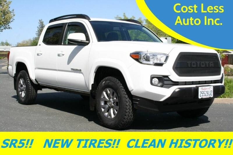 2017 Toyota Tacoma for sale at Cost Less Auto Inc. in Rocklin CA