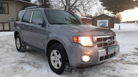 2008 Ford Escape Hybrid for sale at Shores Auto in Lakeland Shores MN