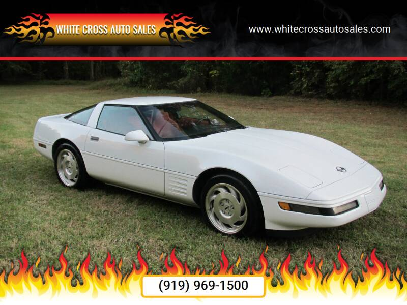 1994 Chevrolet Corvette for sale at White Cross Auto Sales in Chapel Hill NC