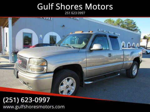 2002 GMC Sierra 1500 for sale at Gulf Shores Motors in Gulf Shores AL