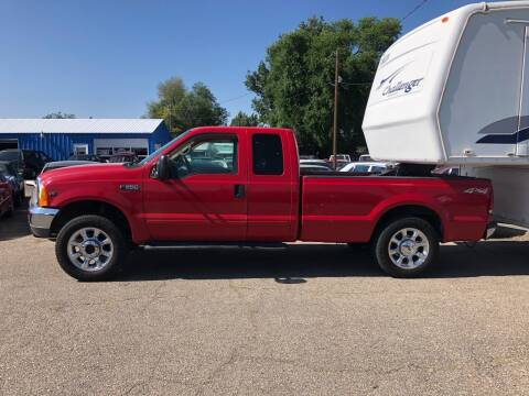 2001 Ford F-250 Super Duty for sale at AFFORDABLY PRICED CARS LLC in Mountain Home ID