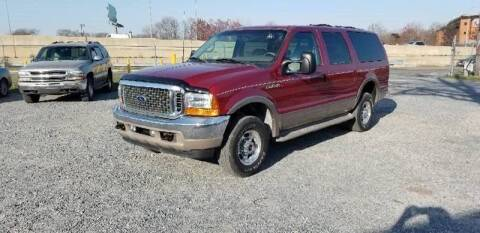 2001 Ford Excursion for sale at Branch Avenue Auto Auction in Clinton MD