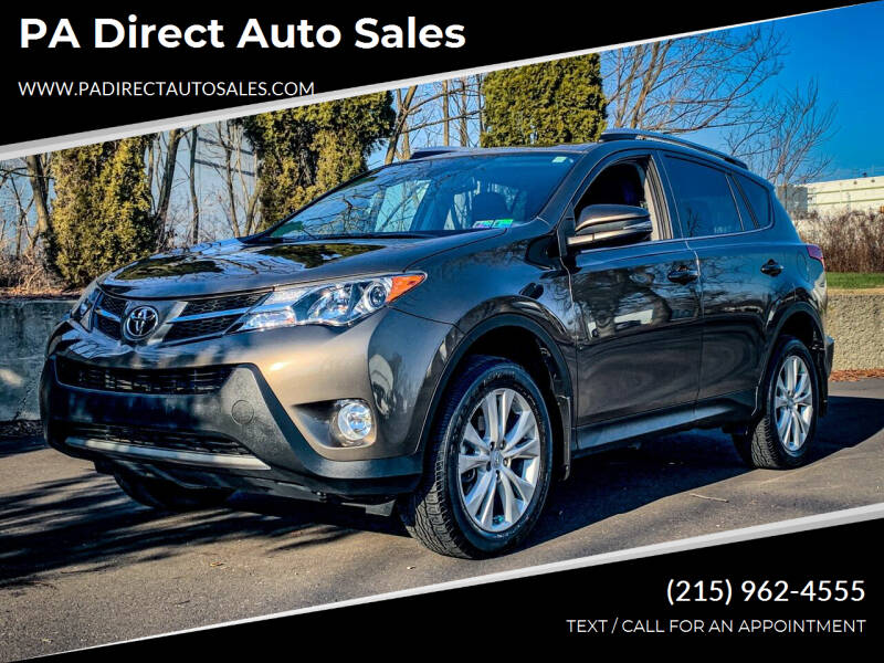 2015 Toyota RAV4 for sale at PA Direct Auto Sales in Levittown PA