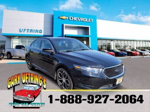 2018 Ford Taurus for sale at Gary Uftring's Used Car Outlet in Washington IL