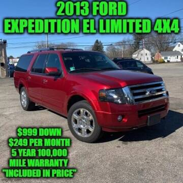 2013 Ford Expedition EL for sale at D&D Auto Sales, LLC in Rowley MA