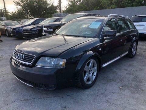 2005 Audi Allroad for sale at Solares Auto Sales in Miami FL