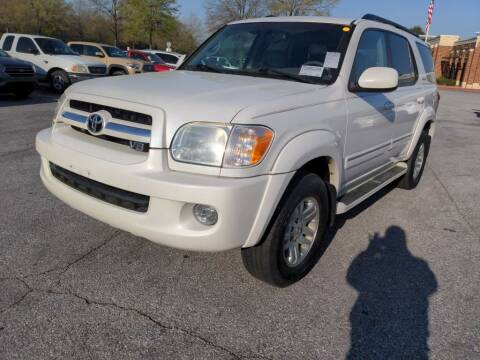 2006 Toyota Sequoia for sale at E-Motorworks in Roswell GA