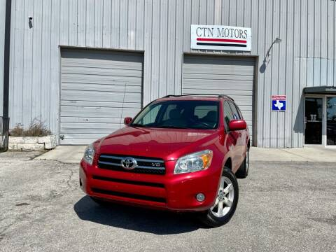 2008 Toyota RAV4 for sale at CTN MOTORS in Houston TX