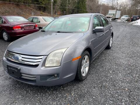 2007 Ford Fusion for sale at JM Auto Sales in Shenandoah PA