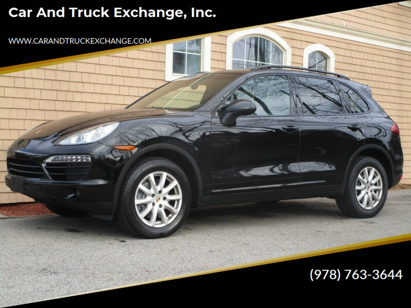 2013 Porsche Cayenne for sale at Car and Truck Exchange, Inc. in Rowley MA