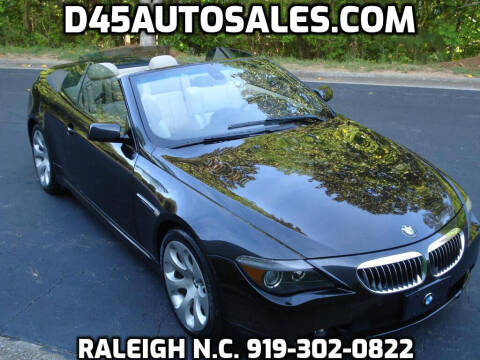 2007 BMW 6 Series for sale at D45 Auto Brokers in Raleigh NC