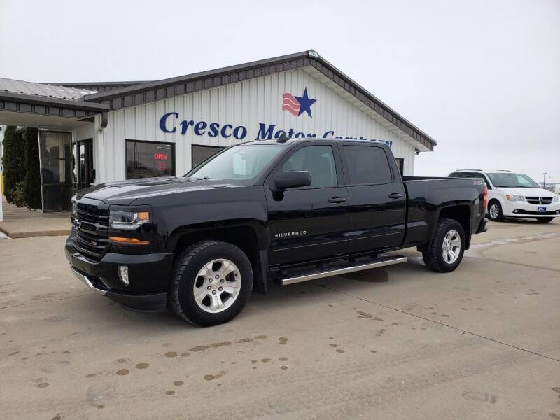 2017 Chevrolet Silverado 1500 for sale at Cresco Motor Company in Cresco IA