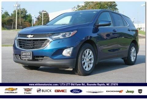 2019 Chevrolet Equinox for sale at WHITE MOTORS INC in Roanoke Rapids NC