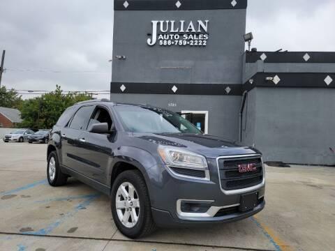 2014 GMC Acadia for sale at Julian Auto Sales, Inc. in Warren MI