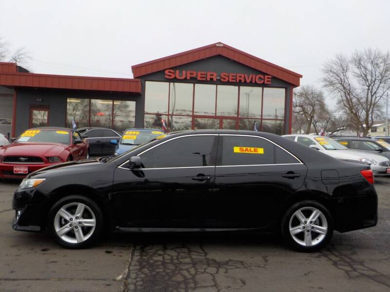 2014 Toyota Camry for sale at Super Service Used Cars in Milwaukee WI