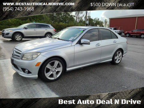 2010 Mercedes-Benz C-Class for sale at Best Auto Deal N Drive in Hollywood FL