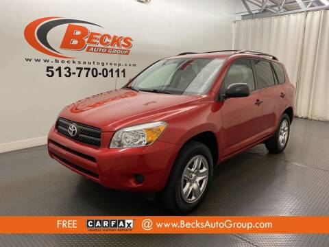 2007 Toyota RAV4 for sale at Becks Auto Group in Mason OH