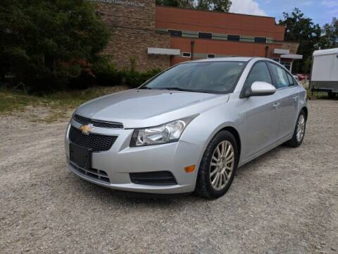2012 Chevrolet Cruze for sale at DILLON LAKE MOTORS LLC in Zanesville OH