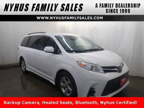 2020 Toyota Sienna for sale at Nyhus Family Sales in Perham MN