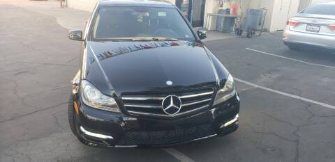 2014 Mercedes-Benz C-Class for sale at DL Auto Lux Inc. in Westminster CA
