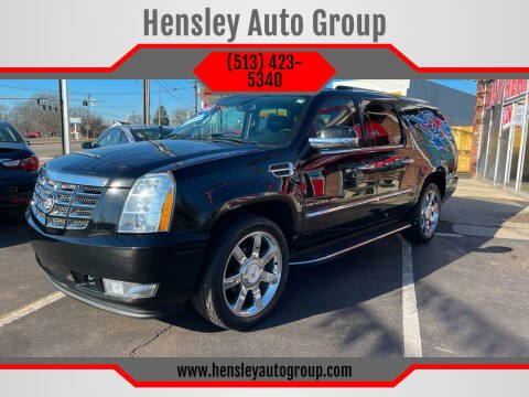 2011 Cadillac Escalade ESV for sale at Hensley Auto Group in Middletown OH