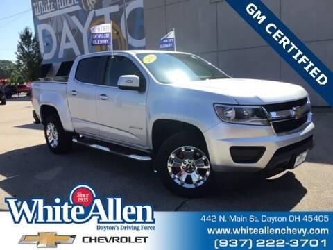 2018 Chevrolet Colorado for sale at WHITE-ALLEN CHEVROLET in Dayton OH