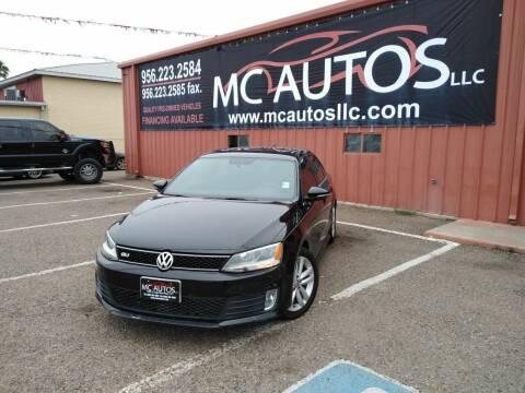 2014 Volkswagen Jetta for sale at MC Autos LLC in Pharr TX