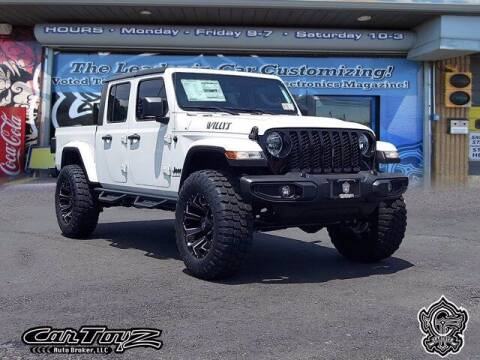2021 Jeep Gladiator for sale at Distinctive Car Toyz in Pleasantville NJ