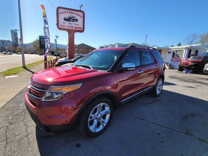 2014 Ford Explorer for sale at Ford's Auto Sales in Kingsport TN