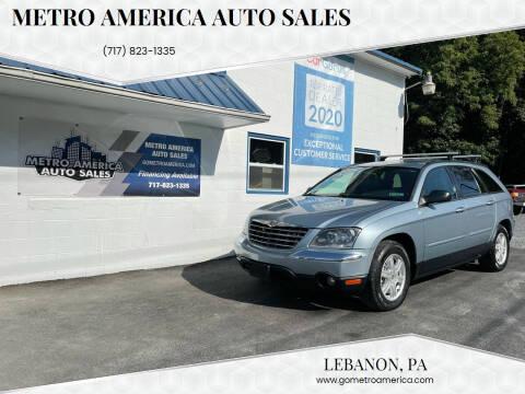 2005 Chrysler Pacifica for sale at METRO AMERICA AUTO SALES of Lebanon in Lebanon PA