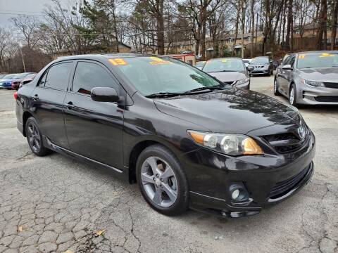 2013 Toyota Corolla for sale at Import Plus Auto Sales in Norcross GA