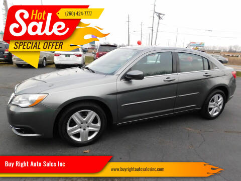 2012 Chrysler 200 for sale at Buy Right Auto Sales Inc in Fort Wayne IN