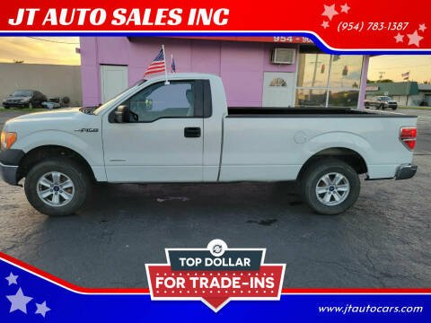 2013 Ford F-150 for sale at JT AUTO SALES INC in Oakland Park FL