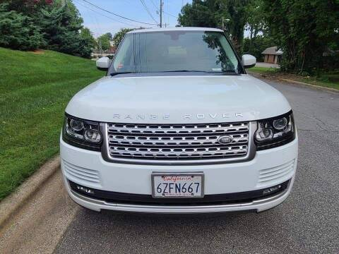 2015 Land Rover Range Rover for sale at IMPORT AUTO SOLUTIONS, INC. in Greensboro NC