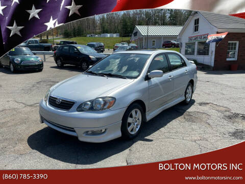 2007 Toyota Corolla for sale at BOLTON MOTORS INC in Bolton CT