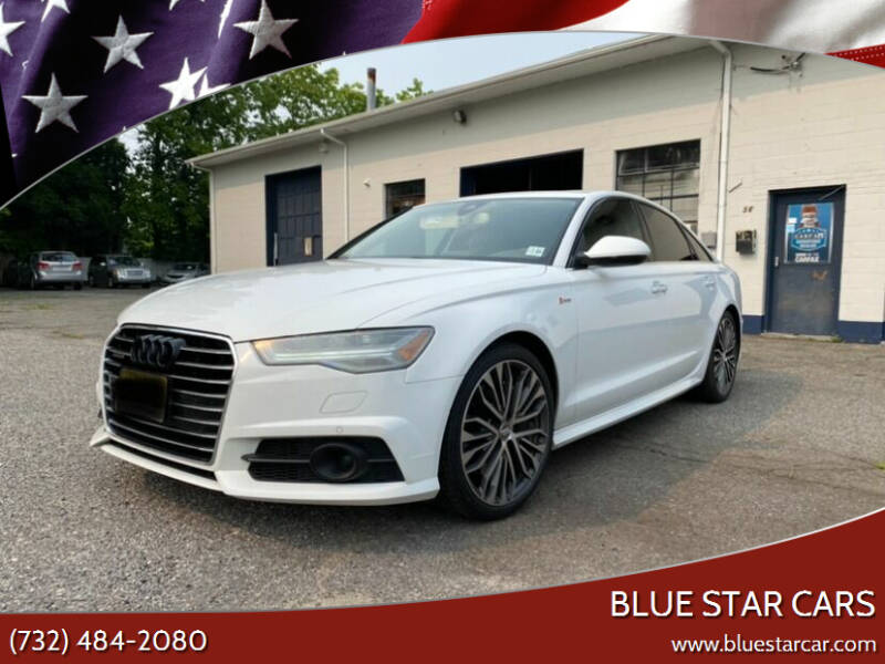 2018 Audi A6 for sale at Blue Star Cars in Jamesburg NJ