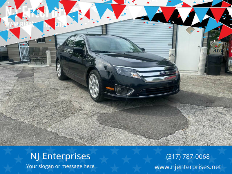 2012 Ford Fusion for sale at NJ Enterprises in Indianapolis IN
