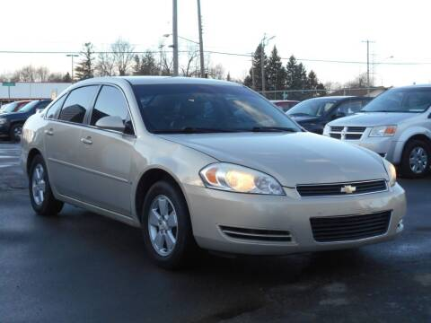 2008 Chevrolet Impala for sale at MT MORRIS AUTO SALES INC in Mount Morris MI