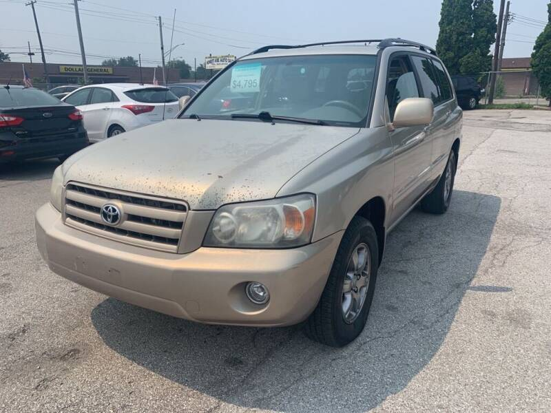 2005 Toyota Highlander for sale at Honest Abe Auto Sales 2 in Indianapolis IN