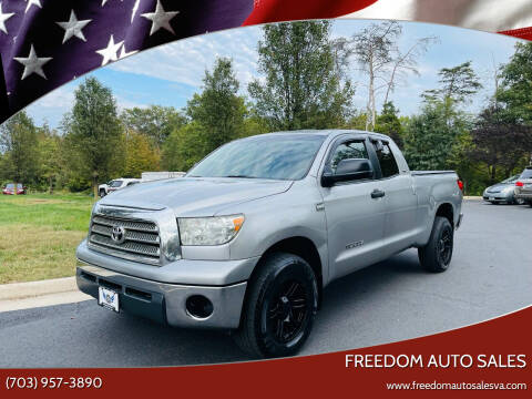 2007 Toyota Tundra for sale at Freedom Auto Sales in Chantilly VA