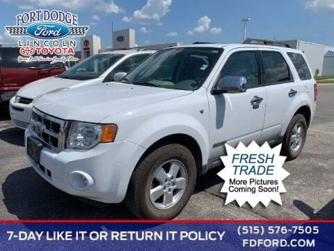 2008 Ford Escape for sale at Fort Dodge Ford Lincoln Toyota in Fort Dodge IA