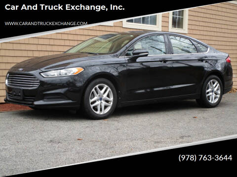 2013 Ford Fusion for sale at Car and Truck Exchange, Inc. in Rowley MA