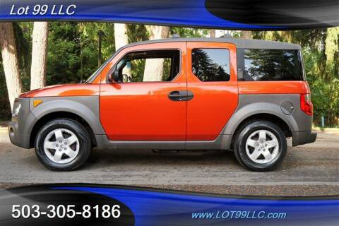 2004 Honda Element for sale at LOT 99 LLC in Milwaukie OR