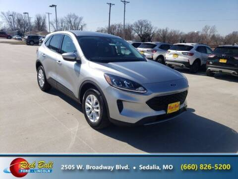 2021 Ford Escape for sale at RICK BALL FORD in Sedalia MO