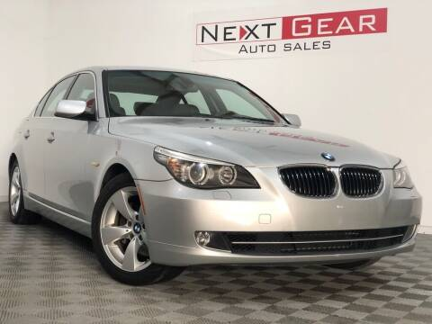 2008 BMW 5 Series for sale at Next Gear Auto Sales in Westfield IN