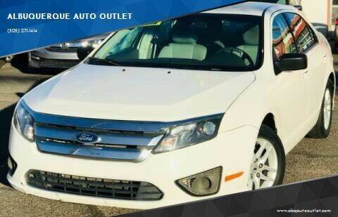 2011 Ford Fusion for sale at ALBUQUERQUE AUTO OUTLET in Albuquerque NM