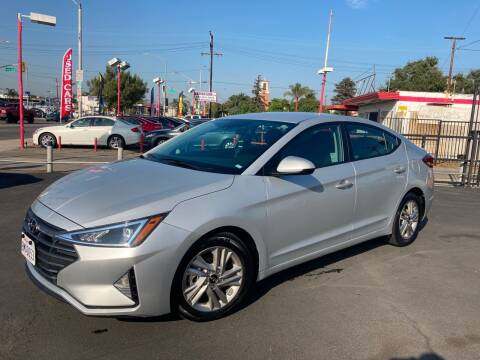 2020 Hyundai Elantra for sale at Pacific West Imports in Los Angeles CA